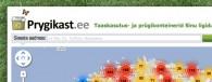 <b>Prygikast.ee - prügikastid ja taaskasutus Eesti kaardil</b>