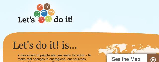 """Kutsume üles kõiki riike kaasa lööma maailma puhtaks koristamises. <a href=""""http://www.help.ee/teeme-ara-maailmakoristamine-2012/"""">Continue reading <span class=""""meta-nav"""">→</span></a>"""