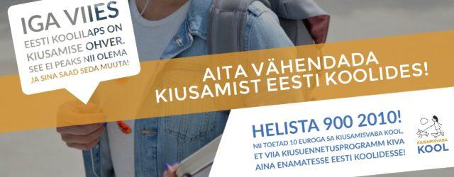"""Kontaktid SA Kiusamisvaba Kool Telliskivi 60A, hoone A3, 3. korrus 10412 Tallinn www.kiusamisvaba.ee Facebook TegevjuhtTriin Toomesaar 56203920 triin.toomesaar@kiusamisvaba.ee Organisatsioonist … <a href=""""http://www.help.ee/sa-kiusamisvaba-kool/"""">Continue reading <span class=""""meta-nav"""">→</span></a>"""